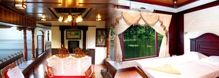 2 bed room houseboat